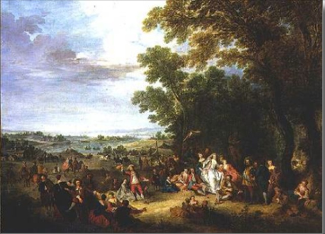 toile peinture mercier paysage
